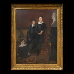 Augustine CochetPortrait des 3 fils du G. Foy20.150€