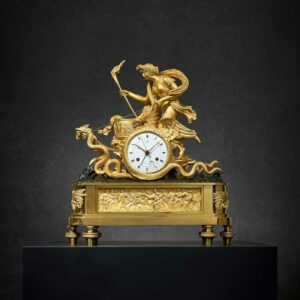 CLOCK WITH A CERES CHARIOTBronze€ 52.000